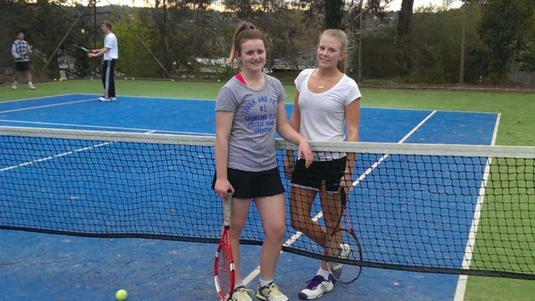 Friends & Tennis!